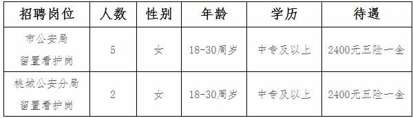 2019年河北衡水招聘劳务派遣制公安警务辅助人员7人公告